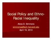 soc183week10_Social Policy and EthnoRacial Inequality