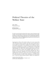 12.- Political theories of the welfare state.pdf