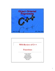 W01-Review of C++ (Functions and Arrays).pdf