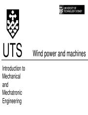 Wind power and machines(8)