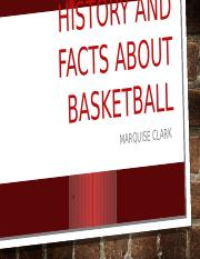 History and facts about basketball