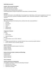 INFECTION Concept 22 studyguide.docx