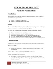 As level biology coursework ideas Marked by Teachers