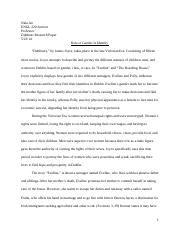 Dubliners Research Paper Draft #2