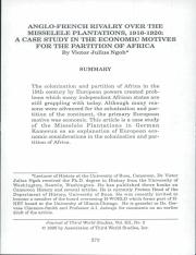 A case study in the economic motives for the parition of africa.pdf