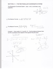 MATH 1023 Section 2 Notes