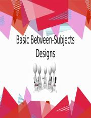 Chapter 9 Basic Between-Subjects Design.pptx