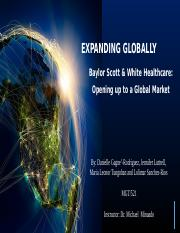 Baylor Scott and White Expanding Globally