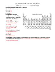 ENER 3030 Engineering Materials Quiz 1 - Solution.pdf
