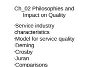 Ch_02 Philosophies and Impact on QualityUpdated(1)