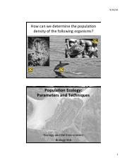 5...Population Ecology Parameters and Techniques.pdf
