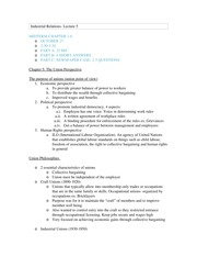 Industrial Relations-Chapter 5