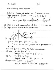 17B_Taylor_Polynomial_7-6_Notes_Approximation_2Pages