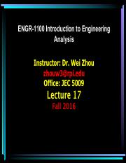 ENGR1100-2n5-Fall16_Lecture_17