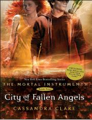 The Mortal Instruments  City of Fallen Angels