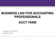 Business_Law_MAC_Lehman_Spring_2015%20Contracts_Torts_Agency