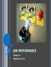 Lecture 8 Job Performance