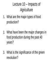 Impacts+of+Agriculture- Lecture 10.docx