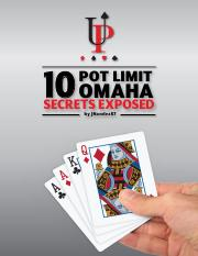 pot limit omaha betting examples of hyperbole