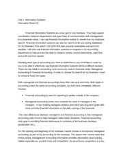 reflection paper on managerial accounting Reflection essay, buy custom reflection essay paper cheap reflecting on financial verses managerial accounting, techniques taught aid the management in the costing of products or services with the aim of solving common problems these techniques.