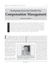 Realigning Fixed and Variable Pay Compensation Management.pdf