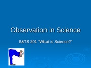Observation2 Lecture