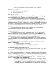 writing analytically chapter summaries Pb chapter 1 the analytical frame of mind writing as a tool of thought 1 in this chapter we define analysis and explain why it is the kind of writing you.