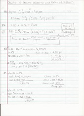 BUS ADM 343 Chapter 10 Homework Problems on Valuation and Rates of Return