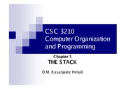 CH5- The Stack