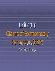 A.P._Psychology_4_(F)_-_Claims_of_Extrasensory_Perception_(ESP)