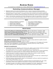 cv-template-Marketing-Manager