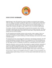 EXECUTIVE SUMMARY (Autosaved)