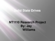 Solid State Drives Presentation