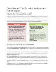 Examples and Tips for using the Push and Pull Strategies.docx