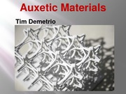 Demetrio_Auxetic Materials Presentation