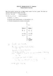 EEE224_Fall09_ProblemSet5_solutions