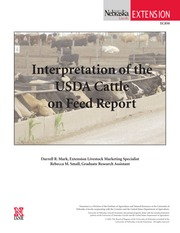 Intrerpetation of the USDA Cattle on Feed Report-1