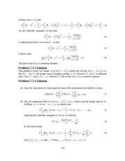 Problem Solutions,2nd Edition (STAT) 278