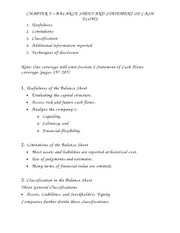 Chapter_5_Balance_Sheet_And_Statement_Of_Cash_Flows_Course_Notes