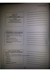 Educational Psychology Class Notes Chapter 9 Notes