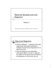 Electrical Symbols and Line Diagrams