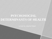 Pschyosocial determinant UPDATED