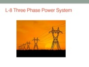 L-8 Three Phase Power System