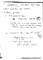 Chem 3341 Chapter 11 Notes