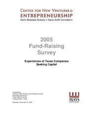 2005_CNVE_Fund_Raising_Survey