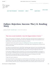 Failure. Rejection. Success_ The J. K. Rowling Story.pdf