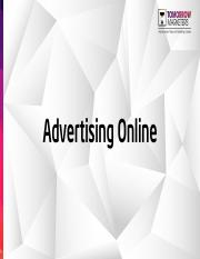 -[Tomorrow Marketers] Advertising Online.pdf
