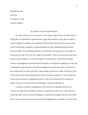 Proposal Essay - Final Draft