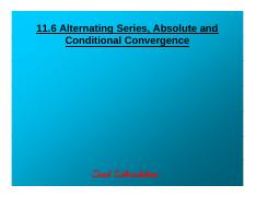 11.6 Alternating Series, Absolute & Conditional Convergence.pdf