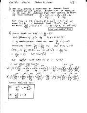 CEE 3310 Prelim 2 Fall 2002 Solution